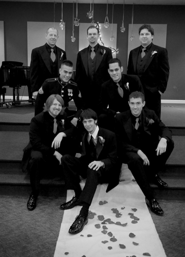 And the Stylin'Groomsmen