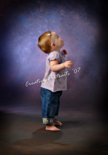 1 Year Old Portrait Baby Portrait Child Photographer