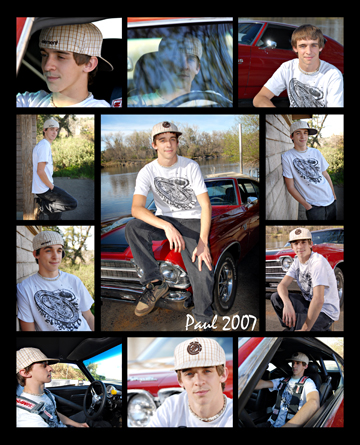 Senior PortraitCollage