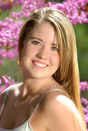 Senior Portrait SpringFlowers