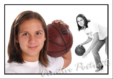 Basketball SeniorPortraits