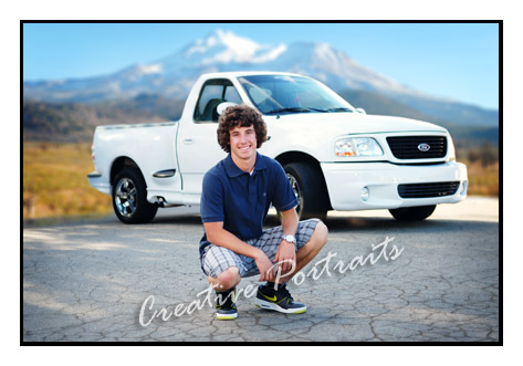 Truck Senior Portraits