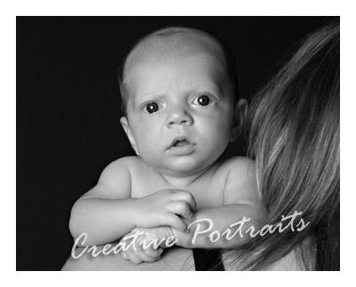 1 Month Old InfantPortrait