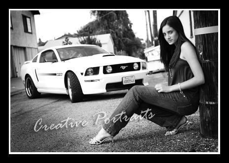 senior and car