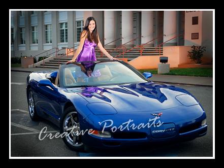 corvette senior portraits