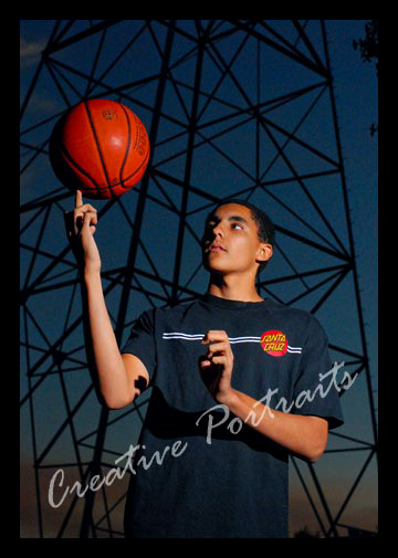 Basketball Senior Portrait