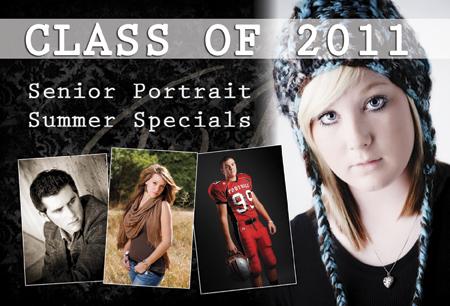 senior portrait mailer