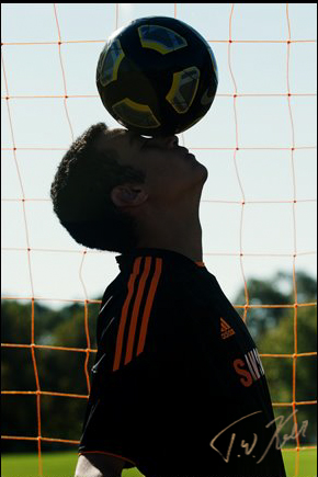 Soccer Senior Portraits Portland