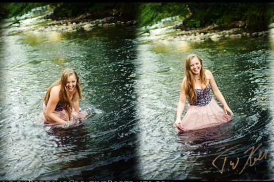 water senior pictures portland