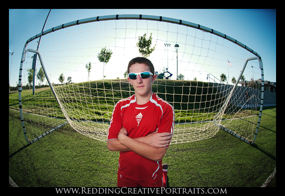 Soccer Senior Portraits Redding CA