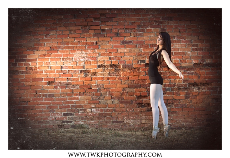 dancer portland senior portraits